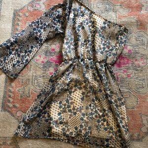 Dresses & Skirts - One shoulder floral fall dress